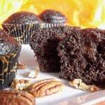 Muffins au Chocolat et noix de pecan au Thermomix