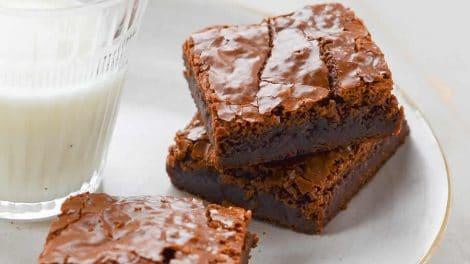 Brownie au chocolat et courgettes WW