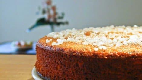 Gâteau à l'orange et gingembre au Thermomix
