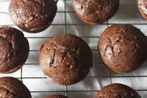 Muffins au chocolat et ricotta WW