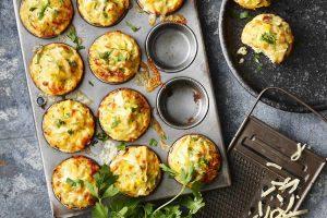 Muffins au thon et aux courgettes WW