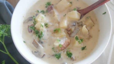 Pommes de terre aux petits lardons au Thermomix
