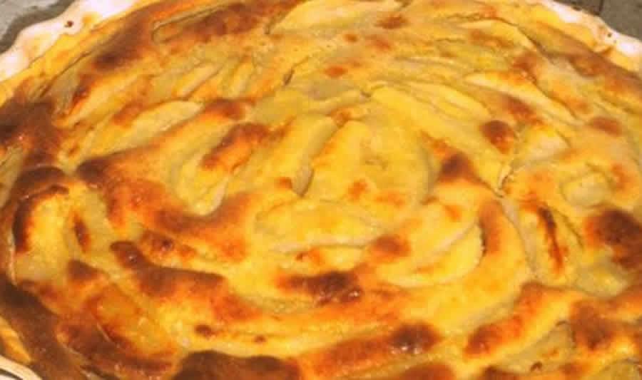 Gâteau moelleux aux pommes et aux amandes au Thermomix