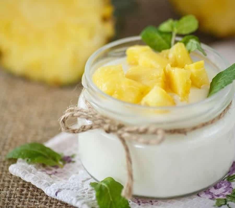 Mousse d'ananas et mascarpone au Thermomix