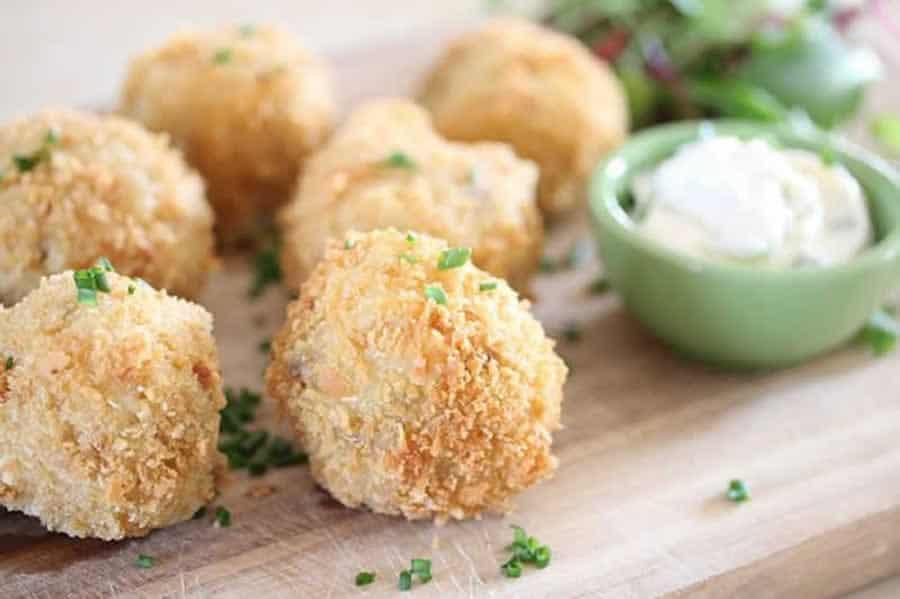 Croquettes de pommes de terre et poulet au Thermomix