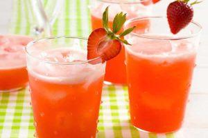 Limonade aux fraises au Thermomix