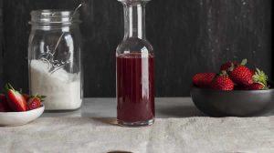 Sirop de fraises naturel au Thermomix