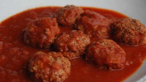 Boulettes de viande à la sauce tomate au Thermomix