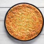Clafoutis de courgettes au curry au Thermomix