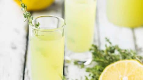 Limoncello au Thermomix