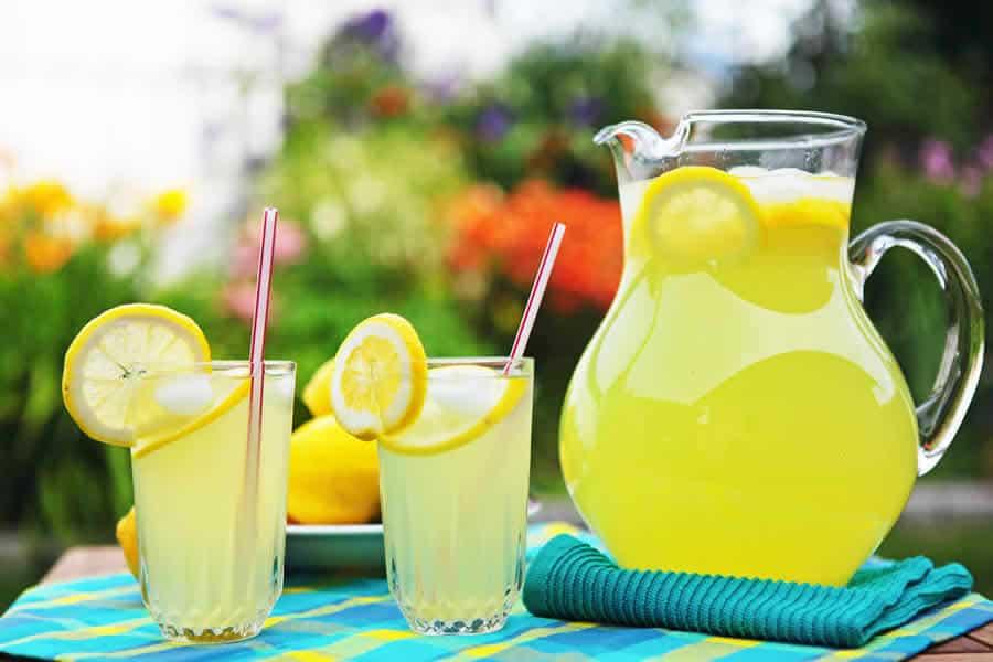 Citronnade ou limonade au citron au Thermomix