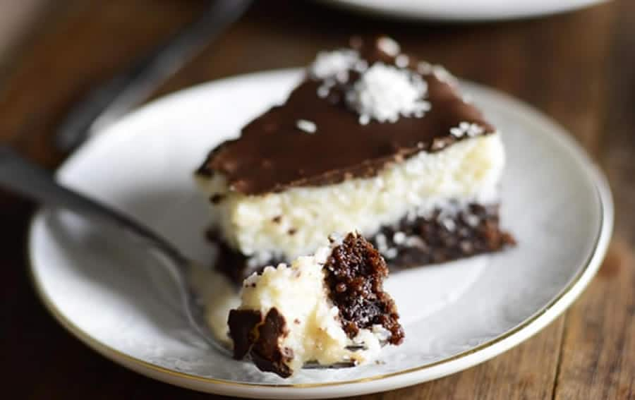 Gâteau choco-coco façon bounty au Thermomix