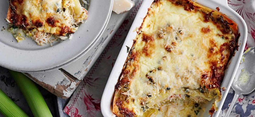 Lasagne aux poireaux au Thermomix