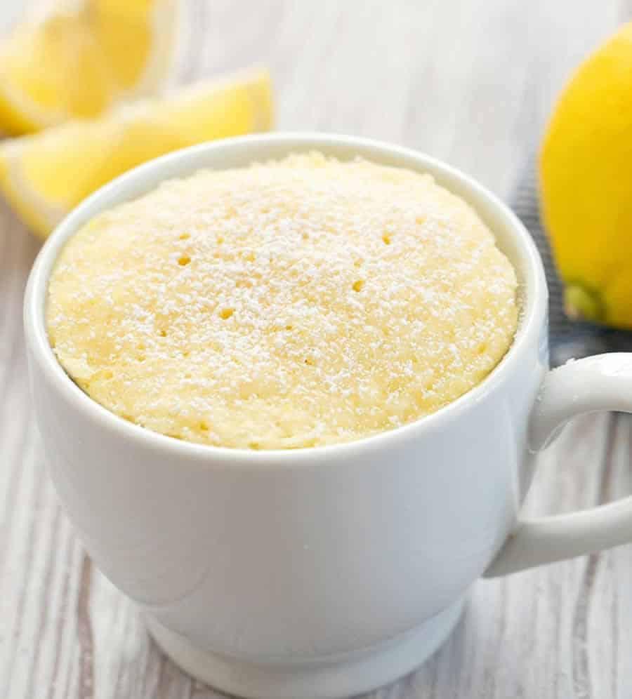 Mug cake au citron WW