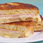 Pain perdu fromage et jambon au Thermomix