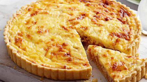 Quiche au jambon et fromage WW