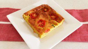 Clafoutis aux courgettes et tomates au Thermomix