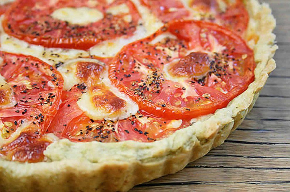 Tarte aux tomates et comté au Thermomix