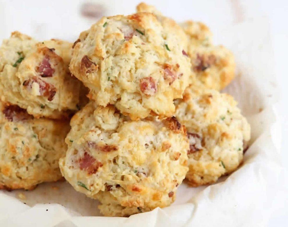 Cookies aux lardons et fromage au Thermomix