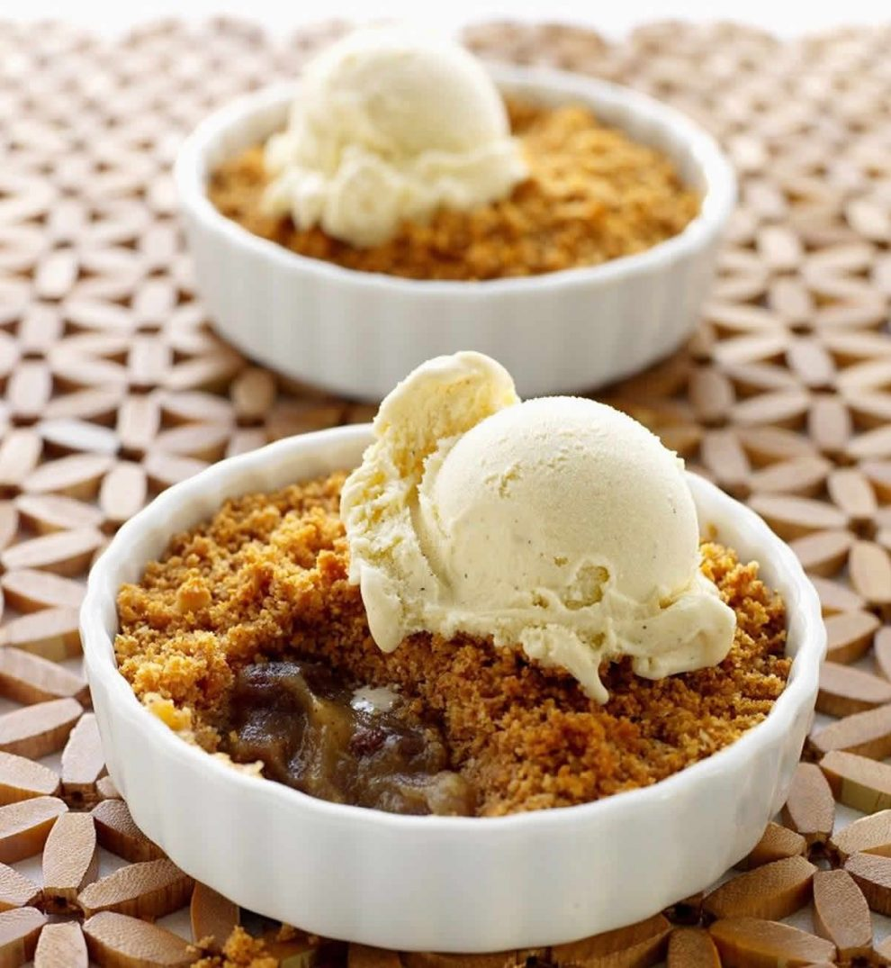 Crumble aux figues au Thermomix