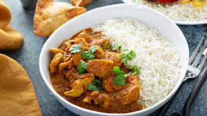 Curry de poulet au fromage blanc WW