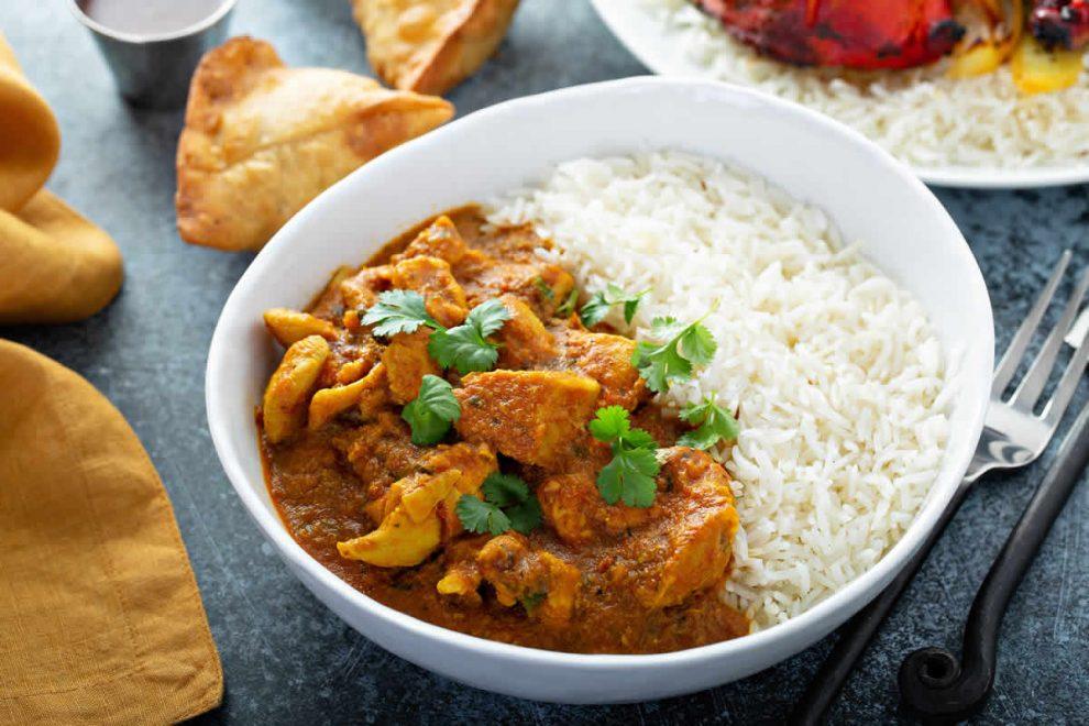 Curry de poulet au fromage blanc WW