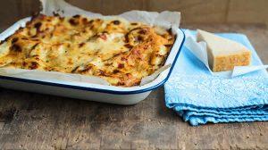 Lasagnes aux courgettes et jambon WW