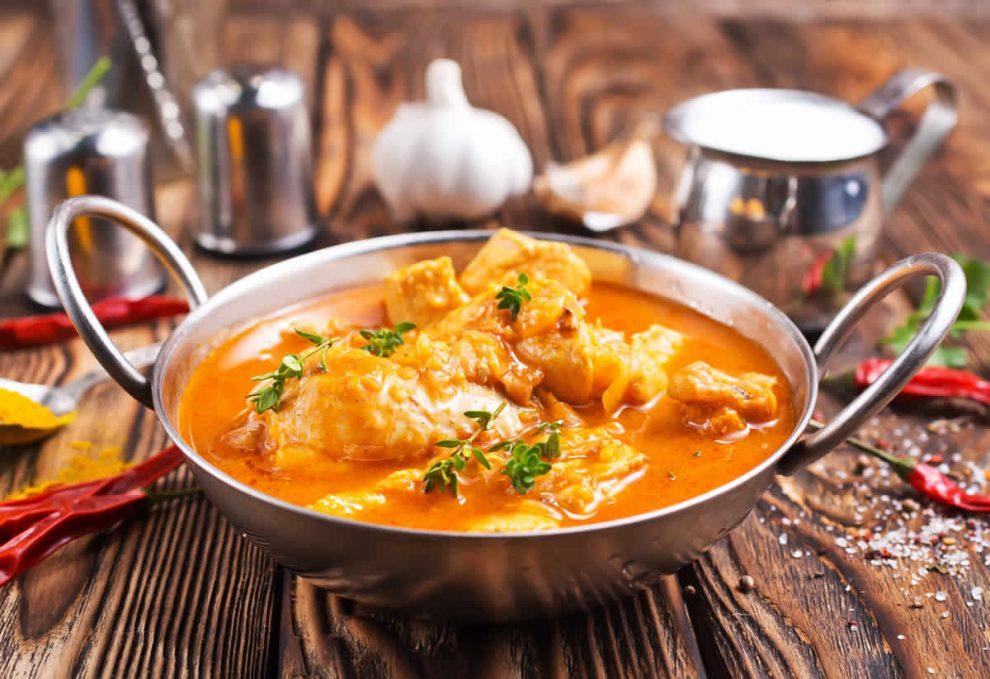 Poulet au curry au Thermomix