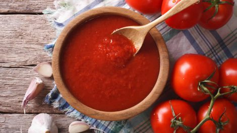 Sauce tomate à l'ail au Thermomix