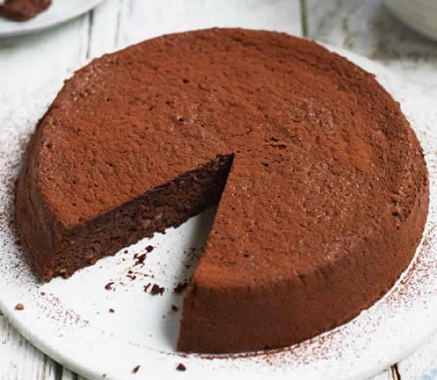 Gâteau au chocolat et aux noisettes au Thermomix