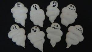Meringues fantômes pour Halloween au Thermomix