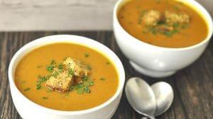 Soupe de légumes rapide au Thermomix