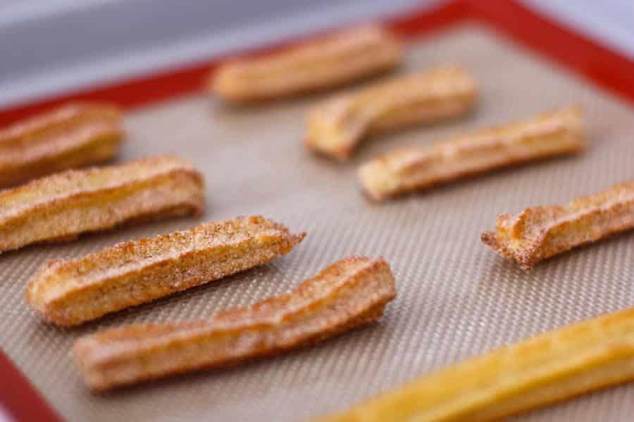 Chichi salés ou churros apéritif au Thermomix