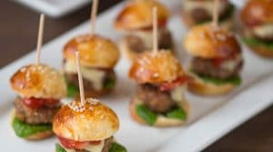Mini burgers apéro au Thermomix