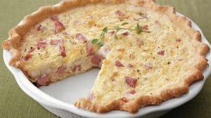 Quiche au jambon et fromage kiri WW