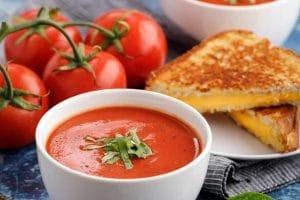 Soupe de tomates WW au Thermomix