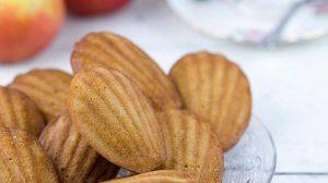 Madeleines aux pommes et chocolat WW