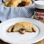 Croissants au Nutella au Thermomix