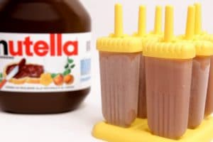 Glaces au Nutella maison au Thermomix