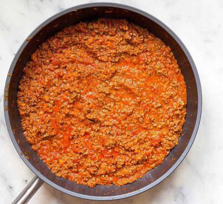 Sauce Bolognaise maison au Cookeo