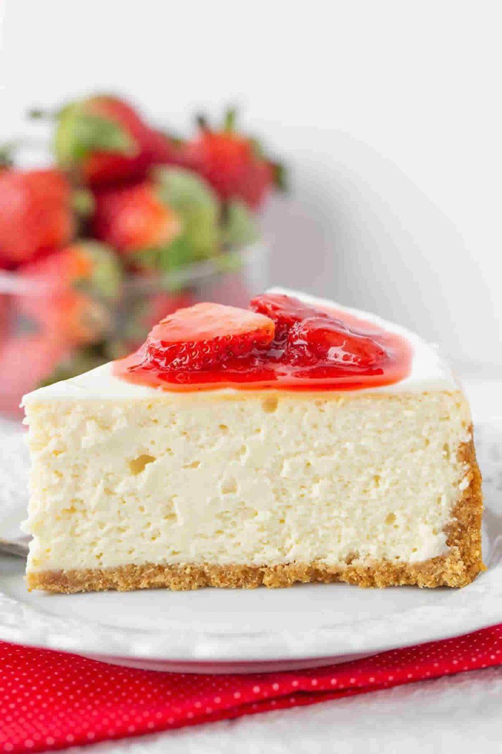 Cheesecake New-Yorkais au Thermomix