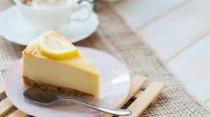 Cheesecake au citron sans cuisson WW