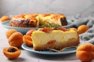 Cheesecake aux abricots WW
