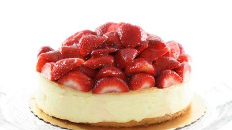 Cheesecake aux fraises et fromage frais WW